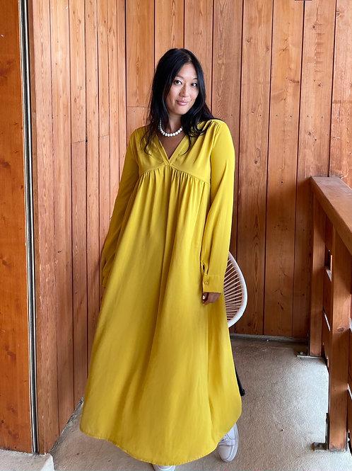 Robe Sophie jaune Banditas