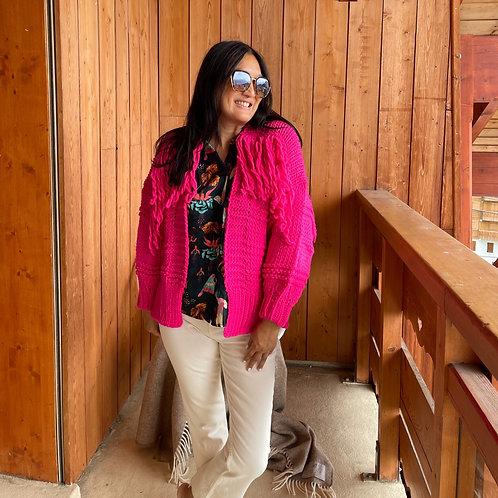 Gilet Sally fushia Banditas