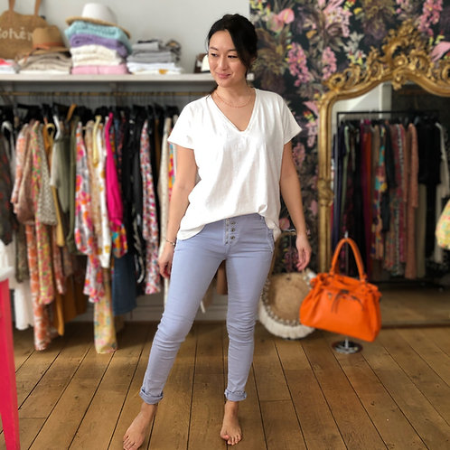 Pantalon Melly Melly lavande pastel Melly and Co