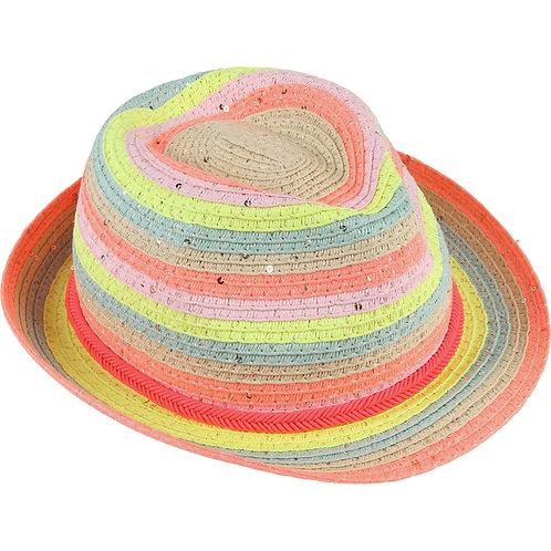 Chapeau multicolore Billieblush