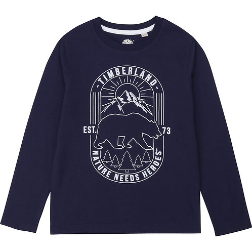 T-shirt ours Timberland
