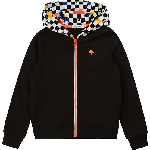 Sweat capuche damier Billybandit