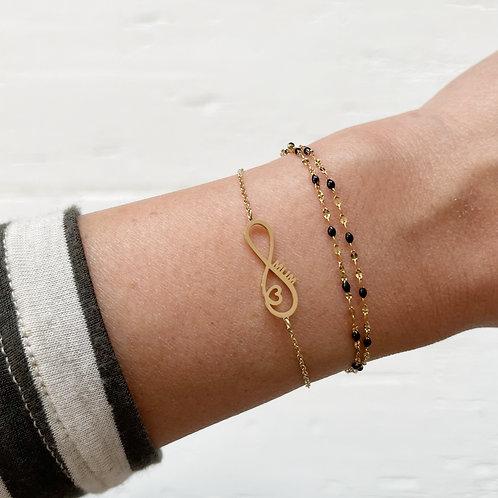 Bracelet Infini Mum