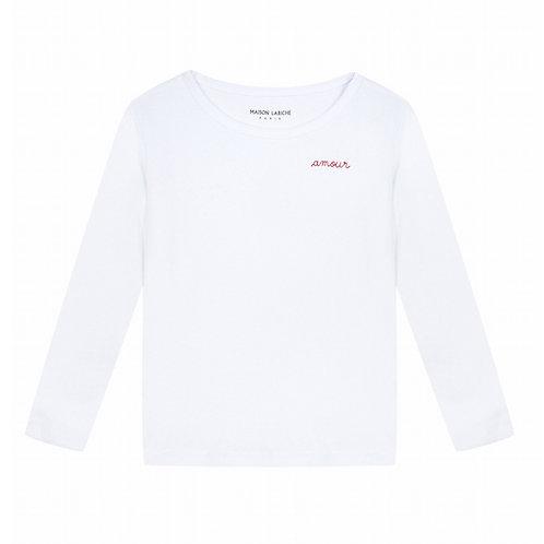 T-shirt amour Maison Labiche