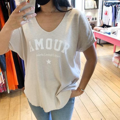 T-shirt Amour Colette