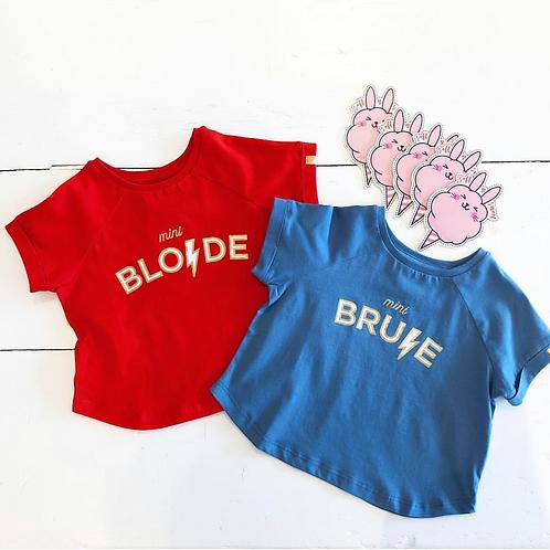T-shirt Mini Blonde Mini Brune Blune Paris