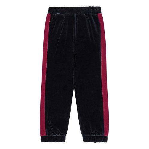 Pantalon jogger velours bande Hundred Pieces