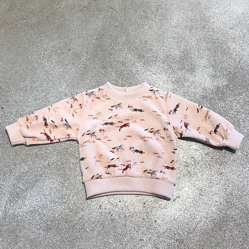 Sweat-shirt All over digital Emile&Ida