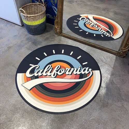 Tapis California ø99 cm Pôdevache
