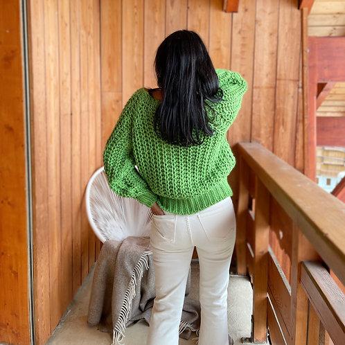 Pull Wendy vert Banditas