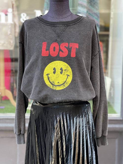Sweat-shirt Smiley Brewster