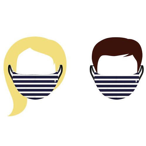 Masque Navy Pôdevache