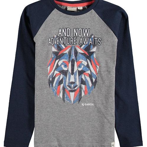 T-shirt loup Garcia