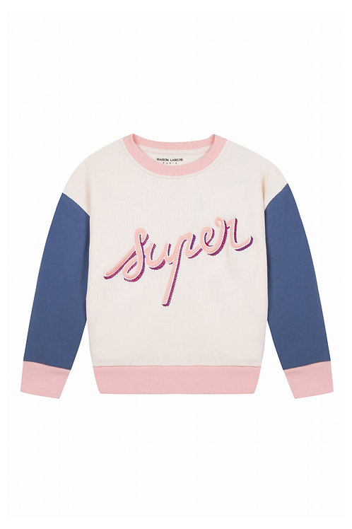 Sweat-shirt Super Maison Labiche