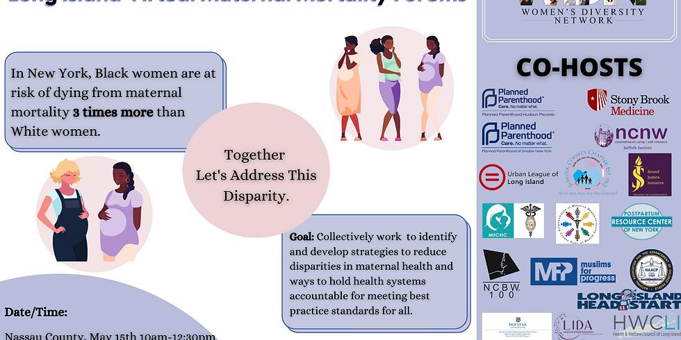 LI Virtual Maternal Mortality Forums
