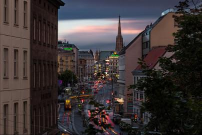 Late Sunset in Vienna