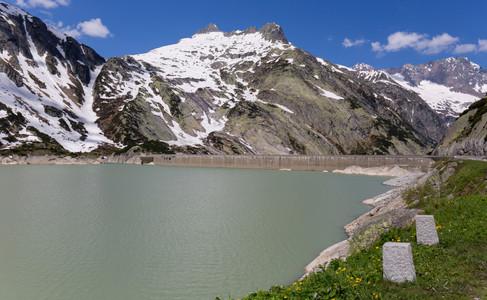 Räterichsbodensee in Grimsel Pass
