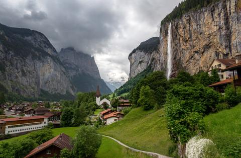 Lauterbrunnen Valley of Waterfalls