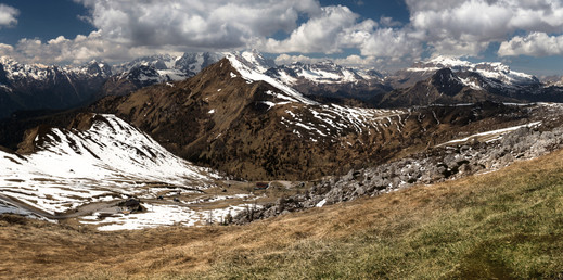 View from Giau Pass