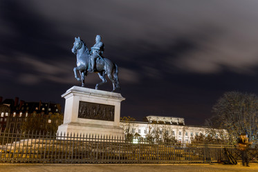 The Equestrian Statue of King Henri IV