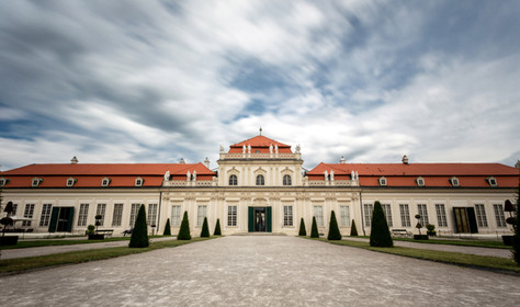 Lower Belvedere Palace in Vienna
