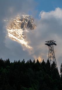 Mount Eiger at Sunset