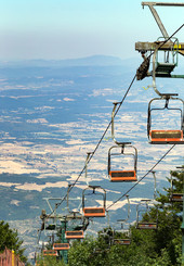Monte Amiata Cable car