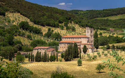 The Abbey of Sant'Antimo