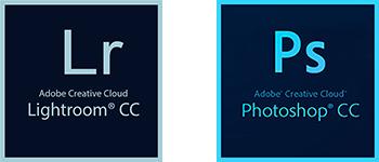 Adobe Photoshop and Lightroom