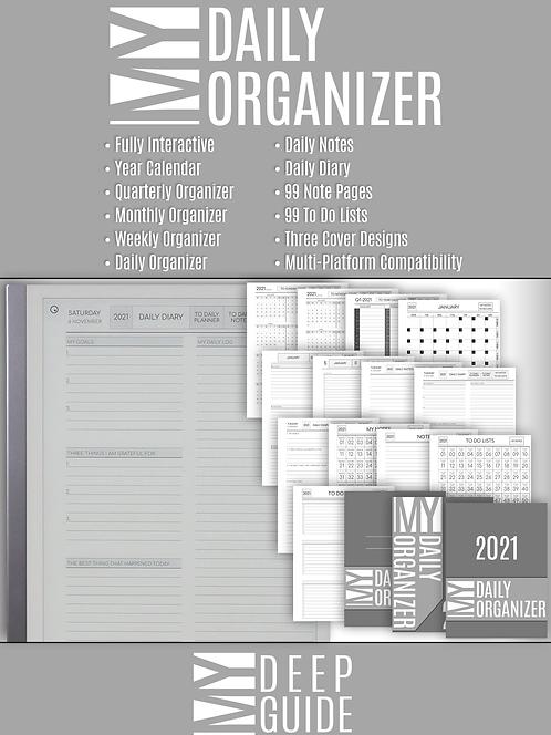 My Daily Organizer - 2021