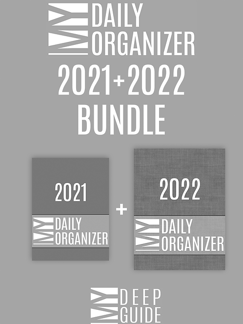 My Daily Organizer Bundle - 2021+2022