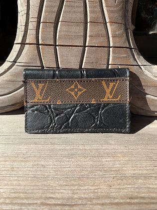 Up-Cycled Louis Vuitton Card Case