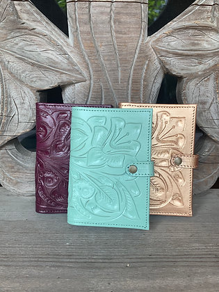 Hand-Tooled Leather Wallet