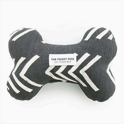 Arrow Mud Cloth Squeaker Toy