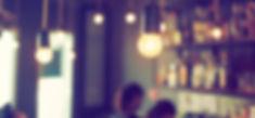 vintage light in coffee shop vintage color background