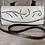 Thumbnail: Ivory Marble Leather + Brass Stud Clutch Bag | Juan Antonio