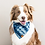 Thumbnail: Indigo Mud Cloth Dog Bandana