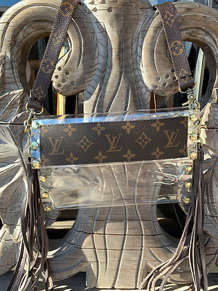 Up-Cycled Louis Vuitton Game Day Bag