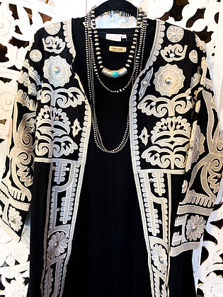 Janis Embroidered Coat