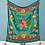 Thumbnail: Velvet Precious Threads Floral Throw