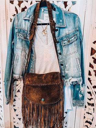 THE ONE - Distressed Denim Jacket