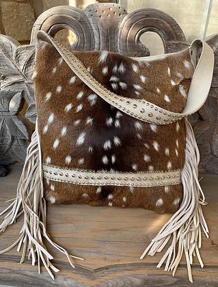 Oversized Axis + Leather Shoulder Bag | Juan Antonio