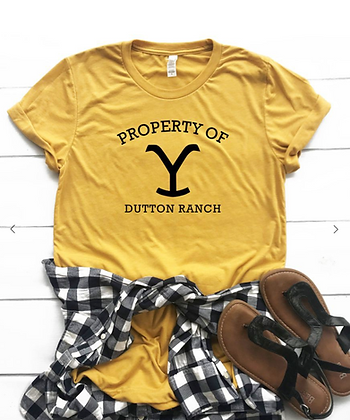 Property of Dutton Ranch Unisex Tee
