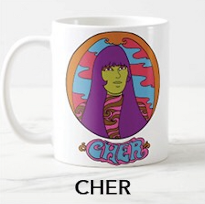Groovy Cher Mug