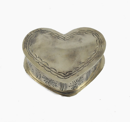 Silver Corazon Keepsake Box | J. Alexander