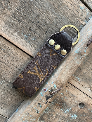 Up-Cycled Louis Vuitton Loop Keychain