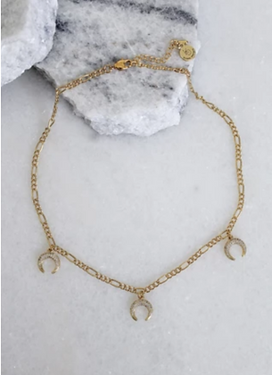 Triple Crest Necklace | Kinsey Designs