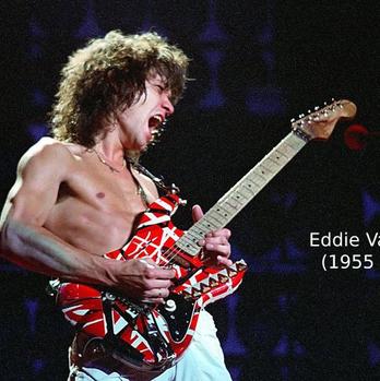 Eddie Van Halen infelizmente nos deixou, mas seu legado na música é eterno!