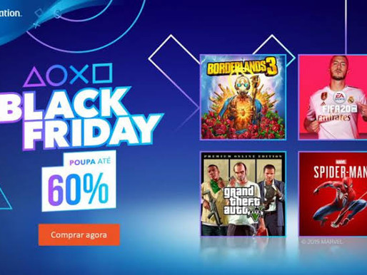 Black Friday PSN STORE | Veja a lista completa com descontos de até 70%