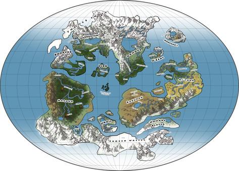 Tharan World Map